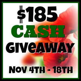 PayPal Cash Giveaway! #FallCashGiveaway (ends November 18)