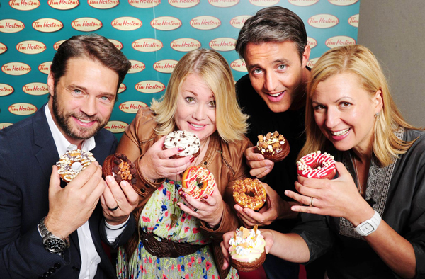 Vote in the Tim Hortons Duelling Donuts challenge!