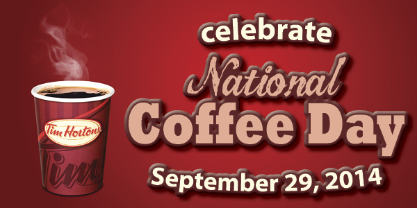 Let's Celebrate National Coffee Day with a $25 @TimHortons Gift Card Giveaway!