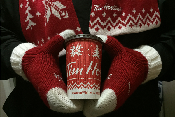 Warm Wishes from Tim Hortons and Big Daddy Kreativ for the Holidays! #WarmWishes