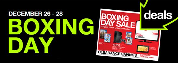 Racking up the Boxing Day Savings at Target! #SeasonsTweetings