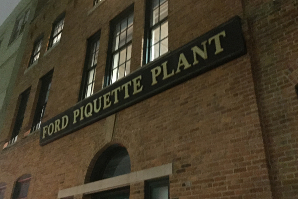 Visiting the historic Ford Piquette Avenue Plant #FordNAIAS