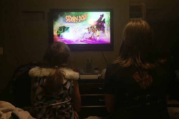 My girls love watching cartoons on @Netflix_ca that I watched when I was a kid! #StreamTeam