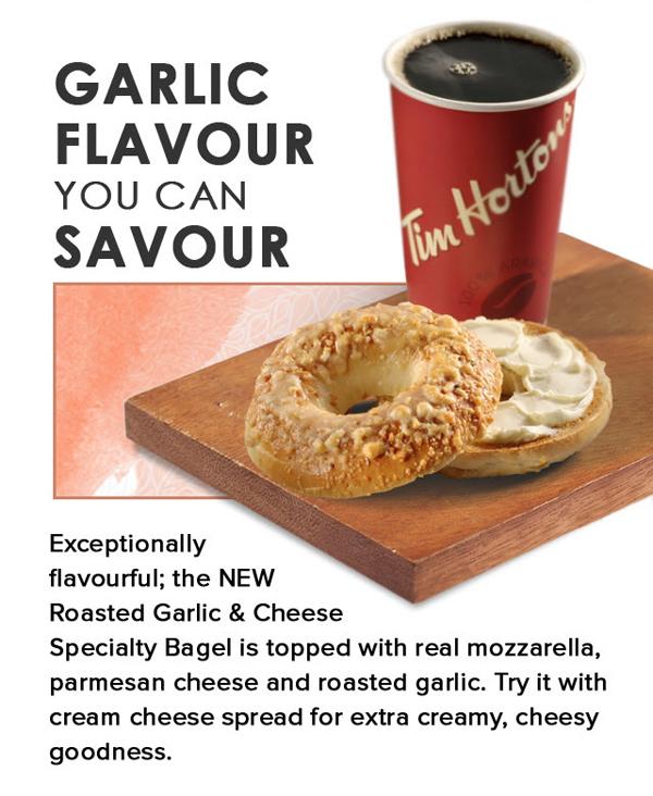 Tims Dark Garlic Flavour