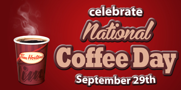 Let's Celebrate National Coffee Day with a @TimHortons Prize Pack Giveaway! #TimsCoffeeDay