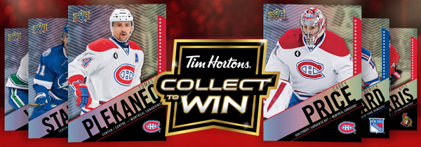 Introducing @TimHortons Collector Series NHL Hockey Trading Cards! #Giveaway