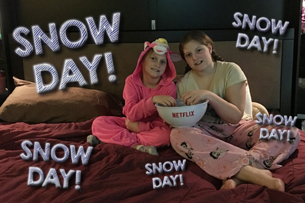 Snow Day? @LEGO_Group and @Netflix_ca it is! #StreamTeam