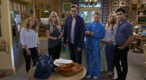 siblings fuller house