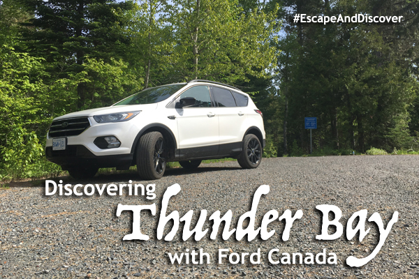 Discovering Thunder Bay with @FordCanada. #EscapeAndDiscover