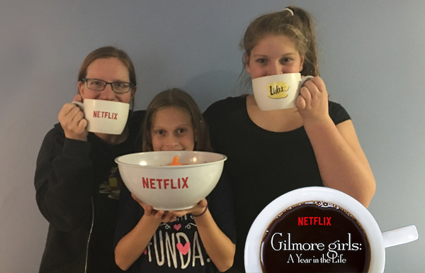 The return of the Gilmore Girls on Netflix. #StreamTeam