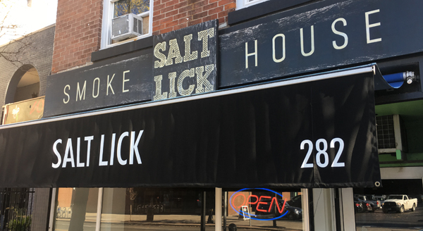 Saltlick Smokehouse: Smoked Meats on James Street North.