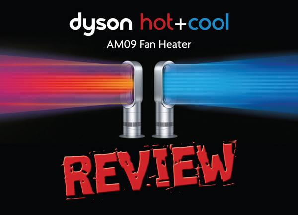 Maintaining office temperature with the Dyson AM09 Hot+Cool.
