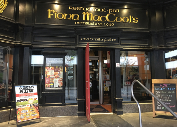 Fionn MacCool's Good Food Promise: New Look and Menu. #GoodFoodPromise