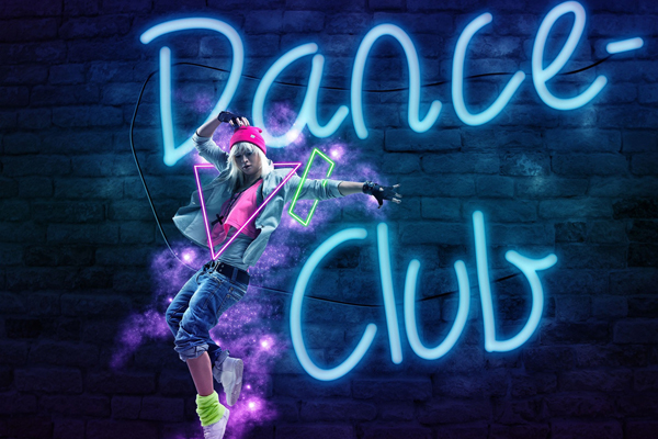 party dance club SMALL