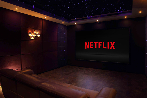 Home cinema netflix