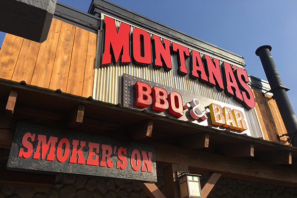 Smokin' Good BBQ at Montana's BBQ & Bar. #SmokinGoodBBQ