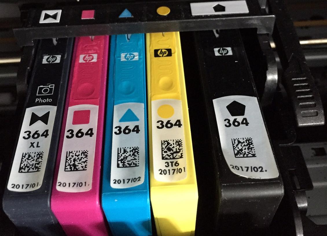 remanufactured ink cartridges in printer