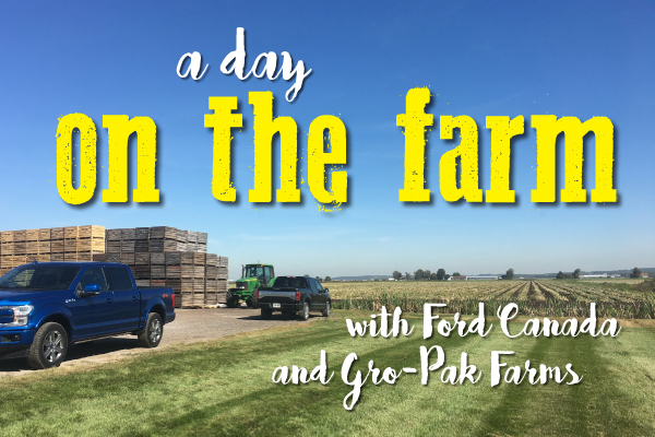 A Day on the Farm with the Ford F-150 and Gro-Pak Farms.