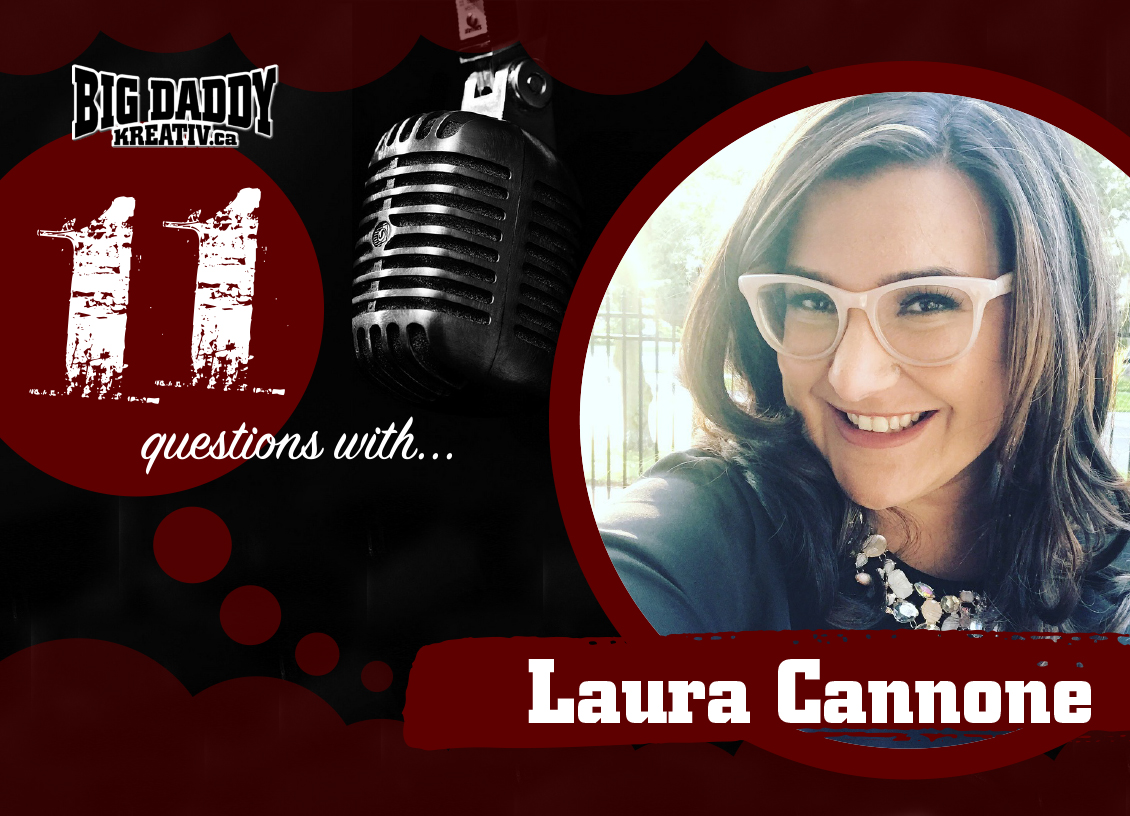 11 Questions with… Laura Cannone. @theggsisters #bdk11Qs