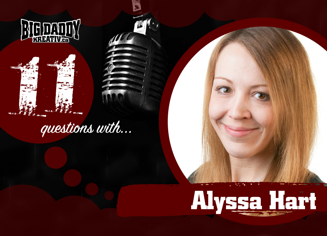 11 Questions with… Alyssa Hart. @amotherhoodblog #bdk11Qs