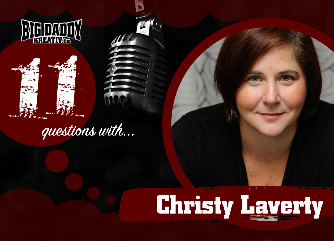 11 Questions with… Christy Laverty. #bdk11Qs