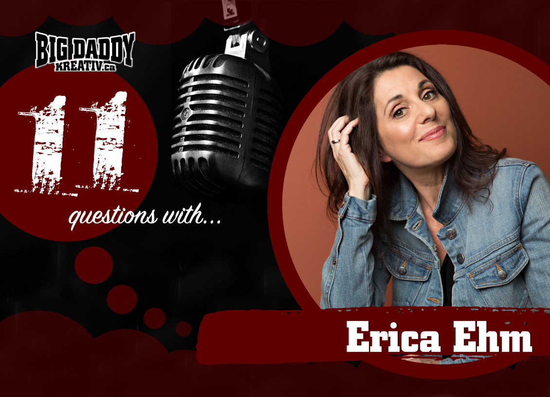 11 Questions with… Erica Ehm. #bdk11Qs