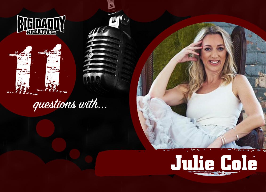11 Questions with… Julie Cole. #bdk11Qs