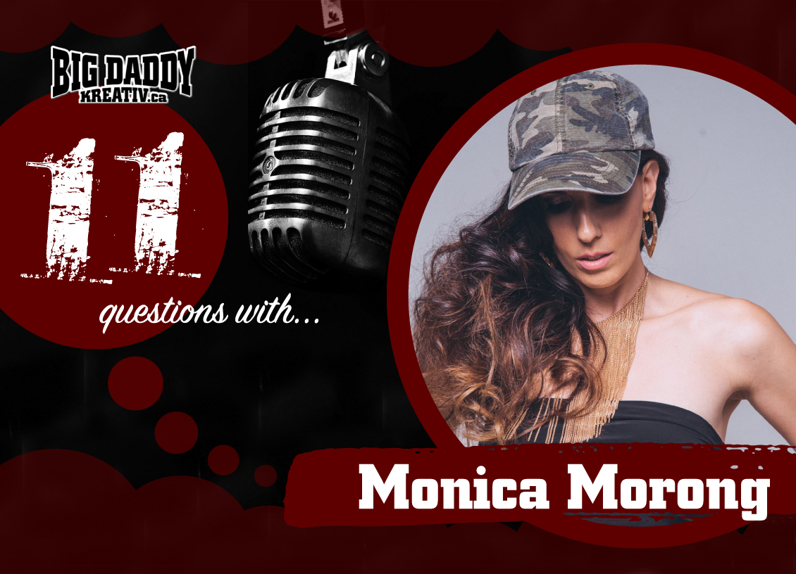 11 Questions with… Monica Morong. #bdk11Qs