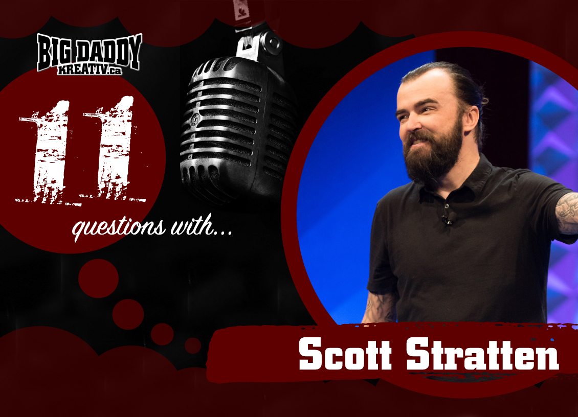 11 Questions with… Scott Stratten. #bdk11Qs