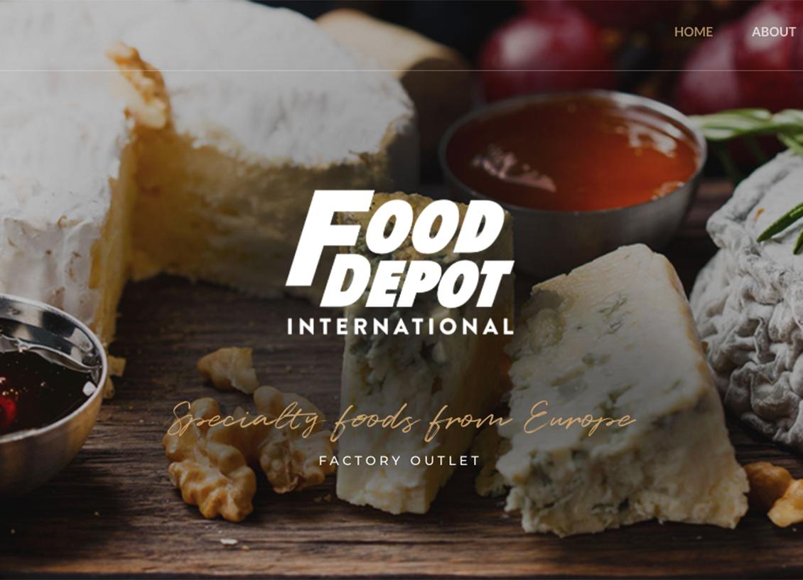 Food Depot: European Foods, Meats, and 600 Varieties of Cheese!
