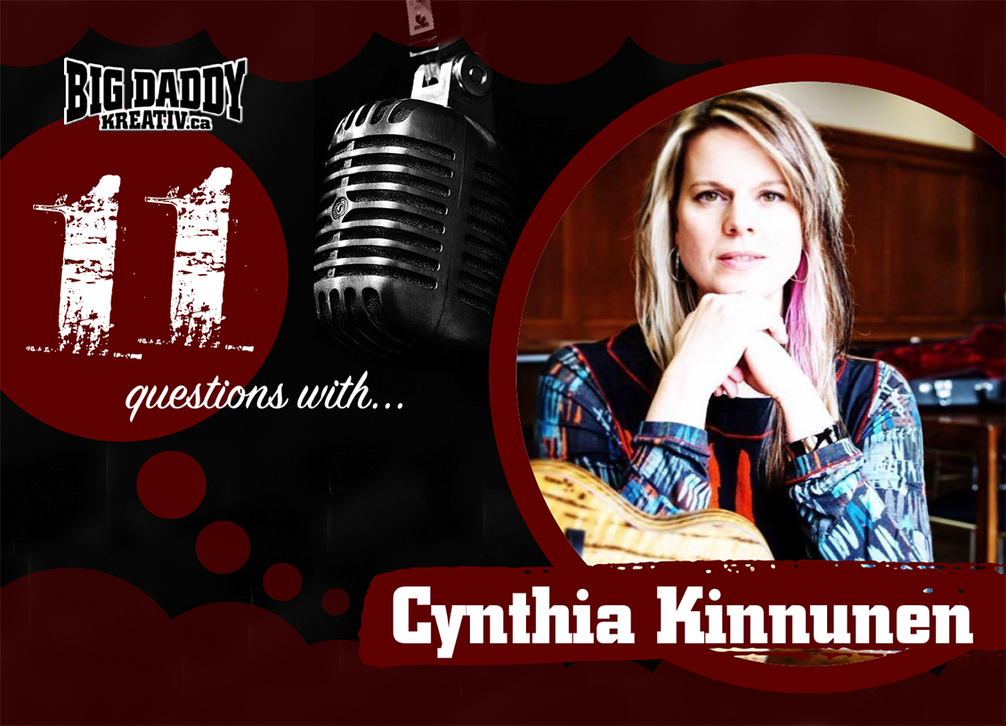 11 Questions with… Cynthia Kinnunen. @cynthiakmusic8 #bdk11Qs