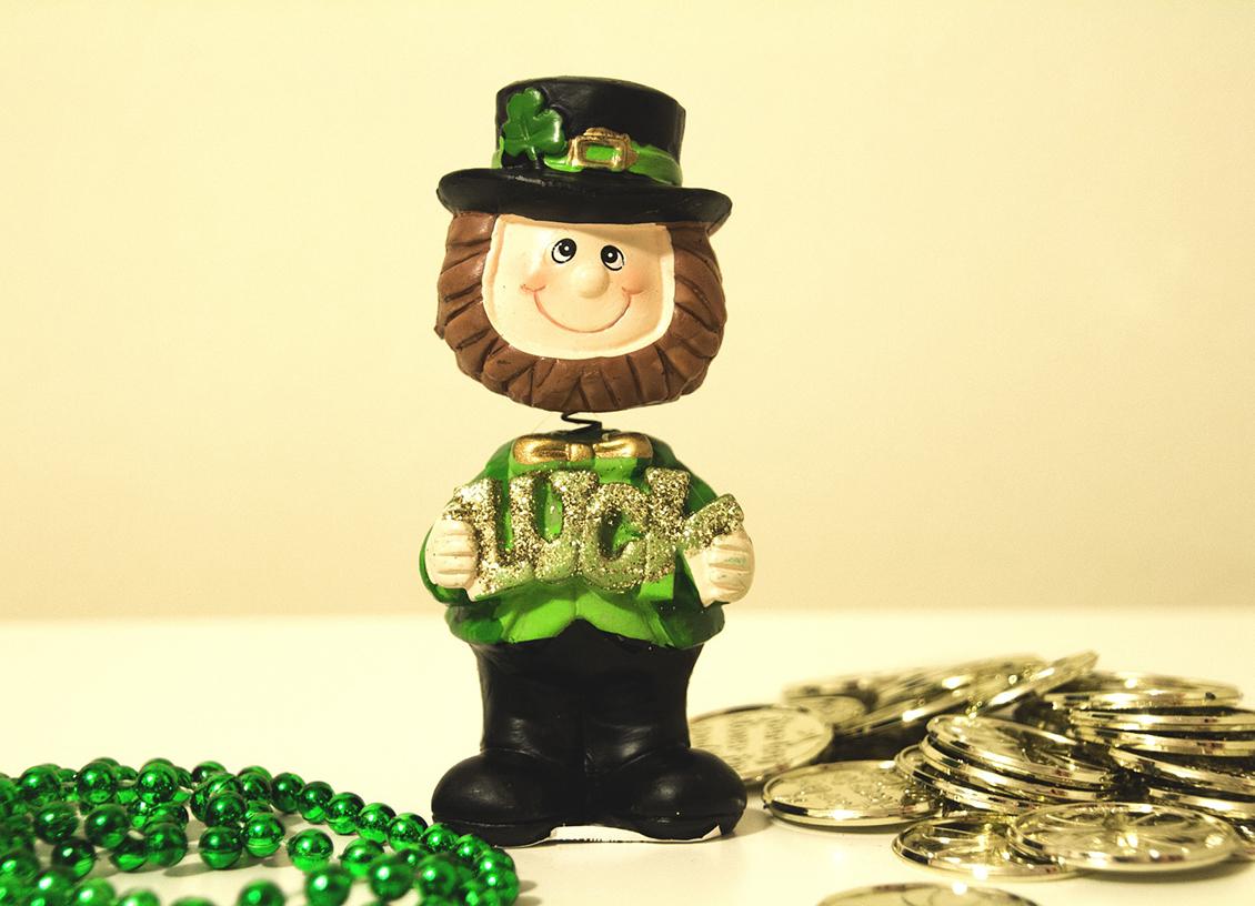 Lucky Cash St Patricks Day
