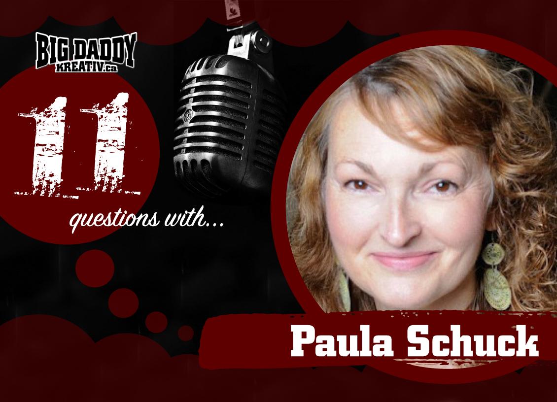 11 Questions with… Paula Schuck. @inkscrblr #bdk11Qs
