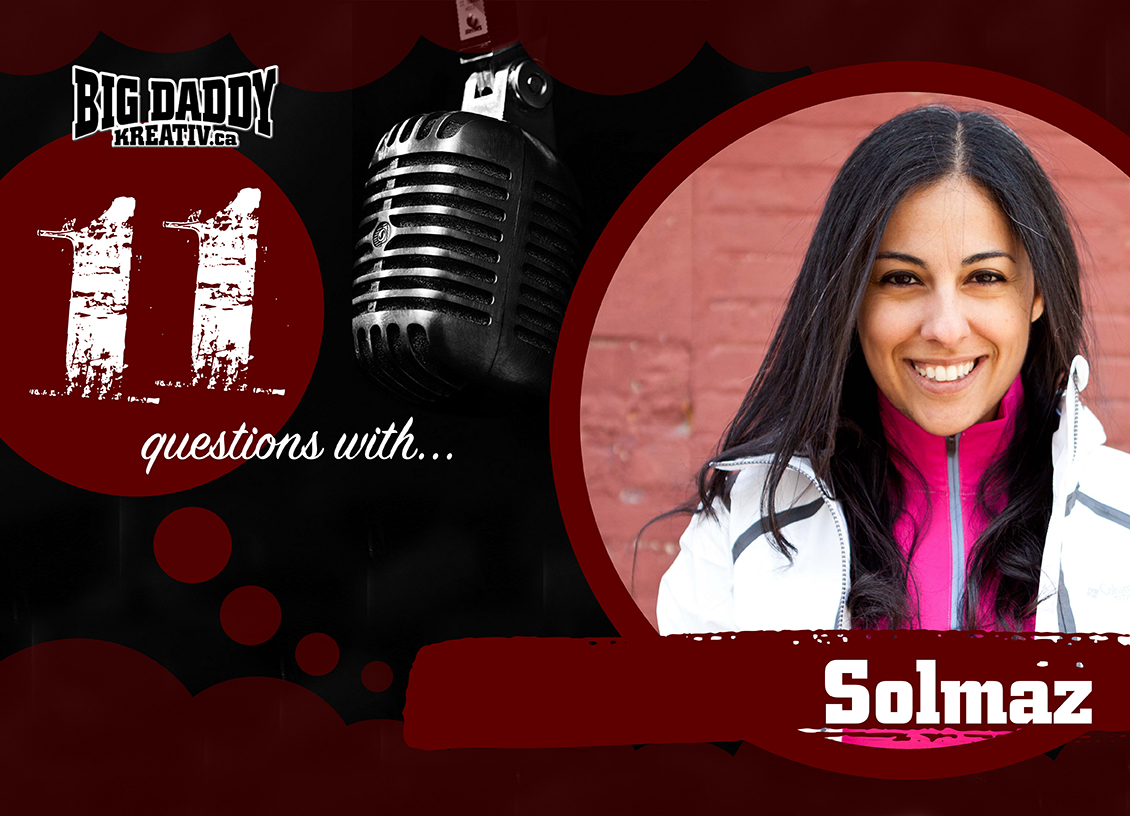 11 Questions with… Solmaz. @zamlos #bdk11Qs