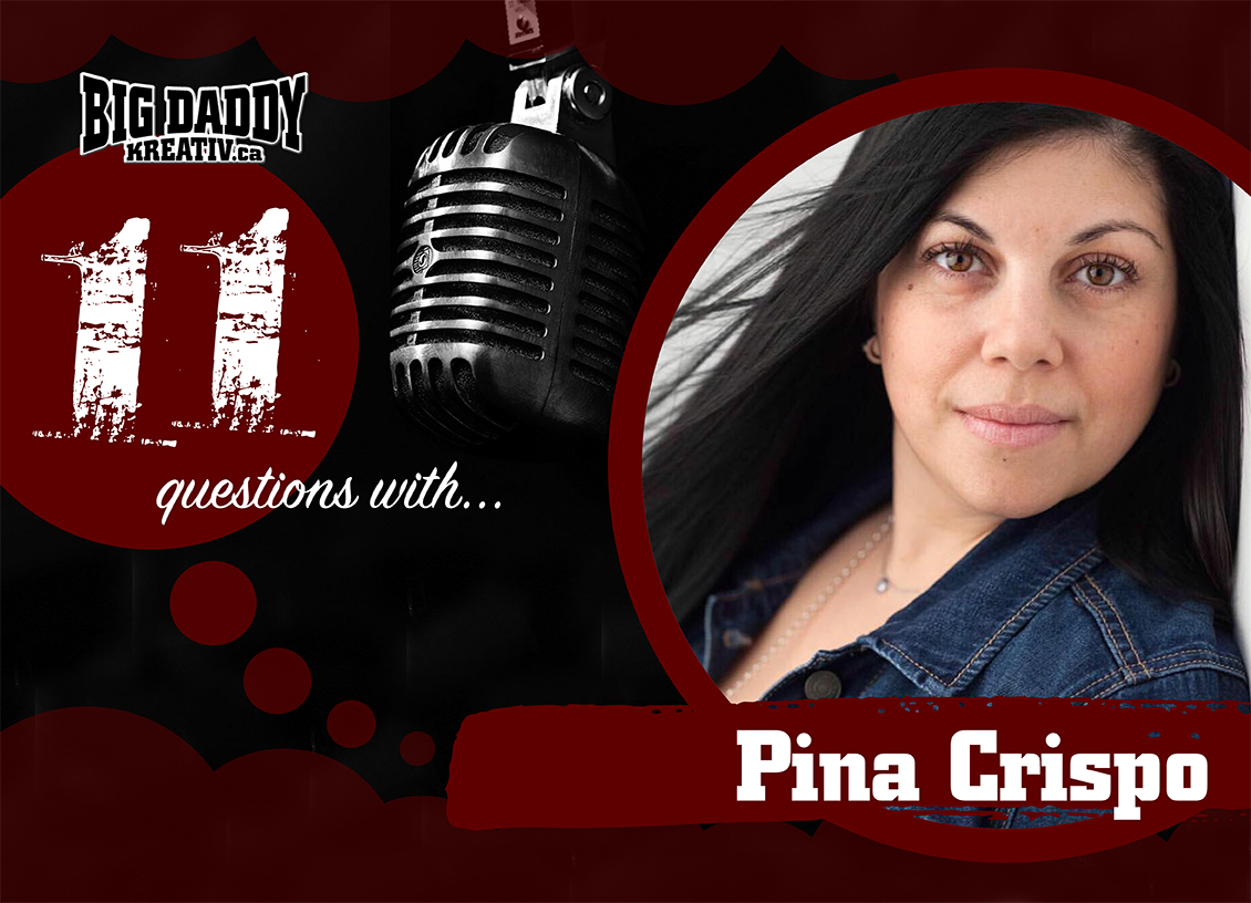 11 Questions with… Pina Crispo. @Chic_Mamma #bdk11Qs