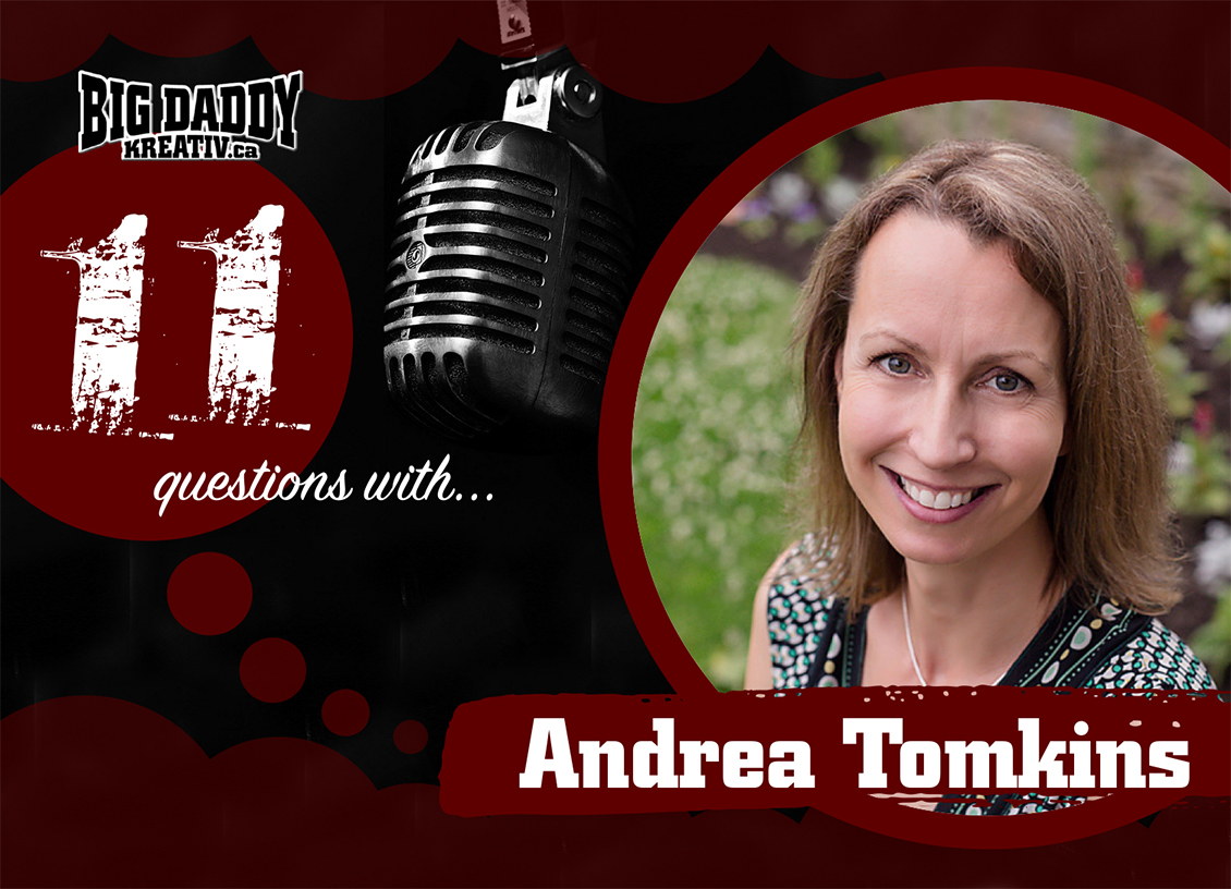 11 Questions with… Andrea Tomkins