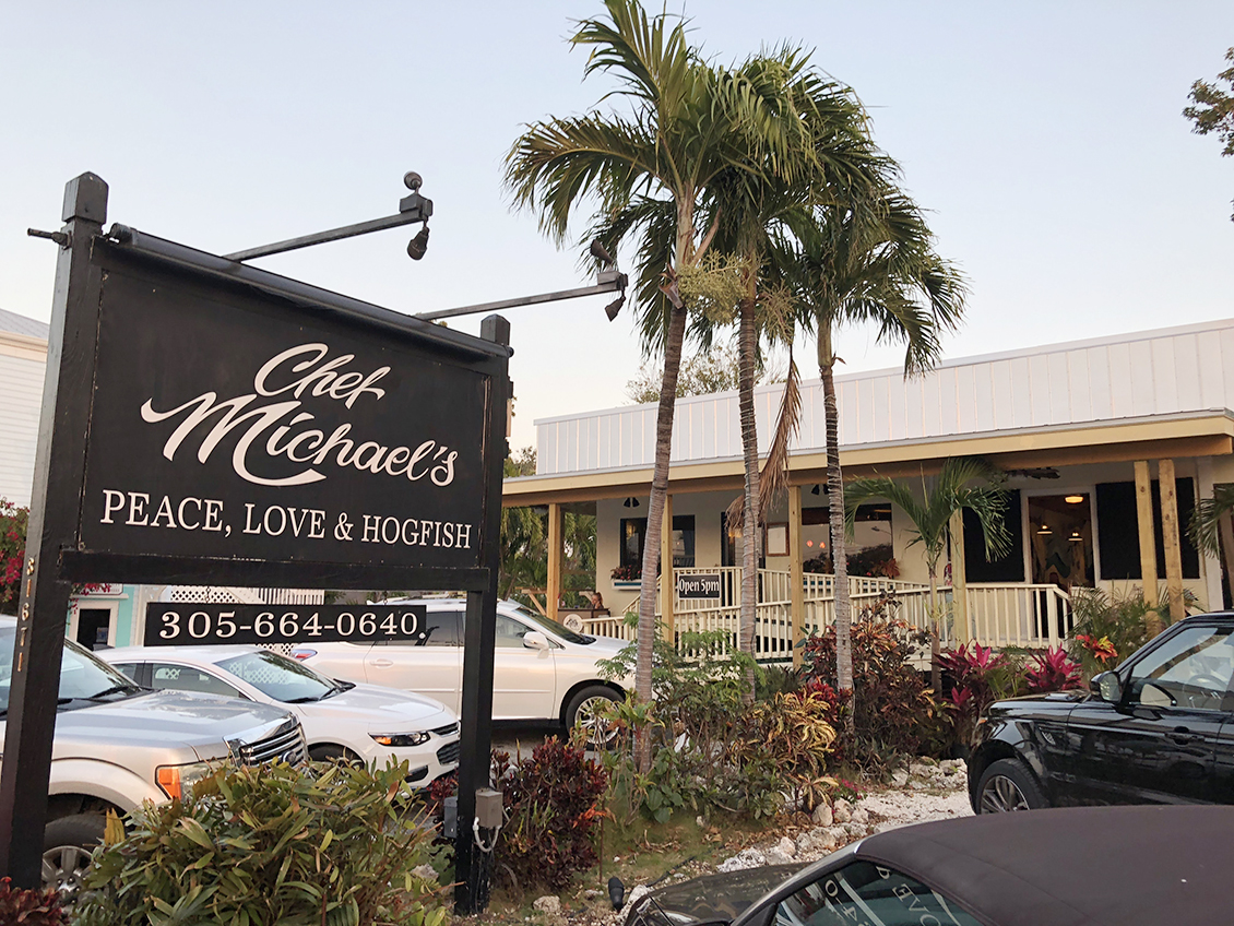 Florida Keys: An Amazing Dining Experience at Chef Michael's. #ad #FloridaKeys #bdkFloridaKeys