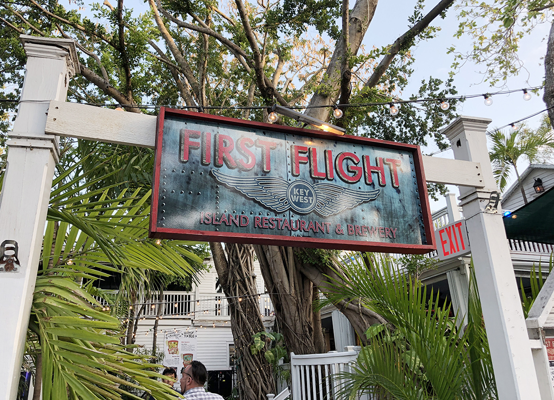 Florida Keys: Enjoying Garden Canopy Dining at First Flight