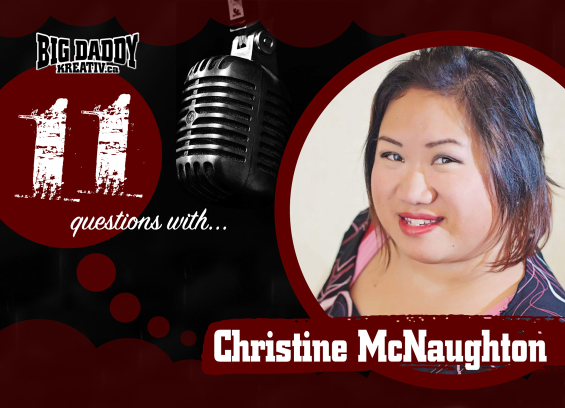 11 Questions with… Christine McNaughton. #bdk11Qs