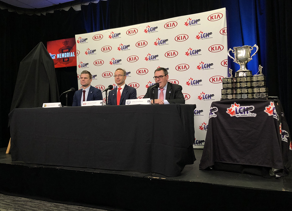 CHL and Kia Canada Press Conference in Quebec City