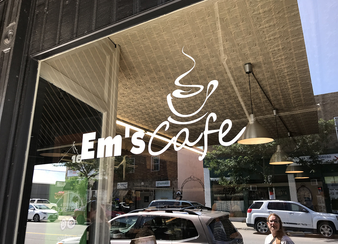 You've Got To Stop in at Em's Cafe in downtown Coldwater!