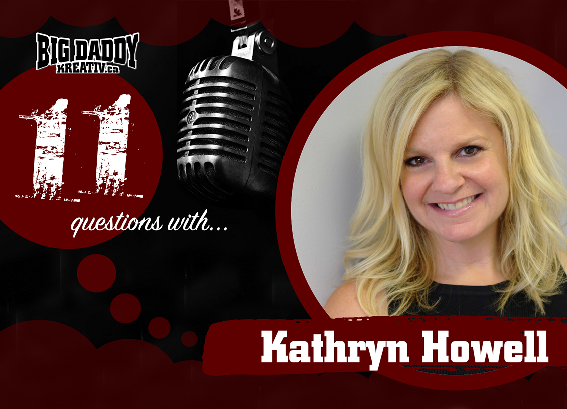 11 Questions with… Kathryn Howell. @h2okathryn #bdk11Qs