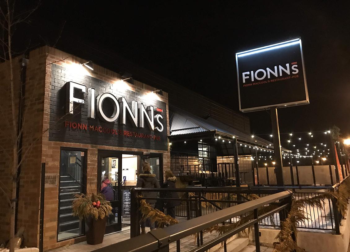 A Wonderful Family Dinner at Fionn MacCool's Orillia Waterfront