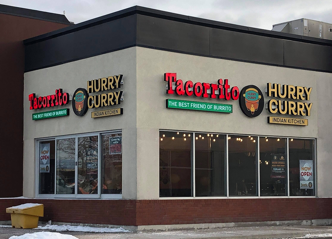 Hurry Curry and Tacorrito introduce their New Dual-Concept Restaurant. #ad @HurryCurryEats #HurryCurryEats @TacorritoCanada #TacorritoCanada