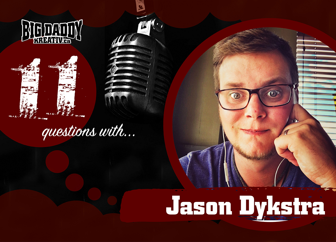11 Questions with… Jason Dykstra