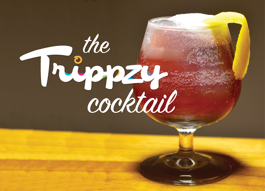 Sending Your Taste Buds on Vacation with the Trippzy Cocktail!