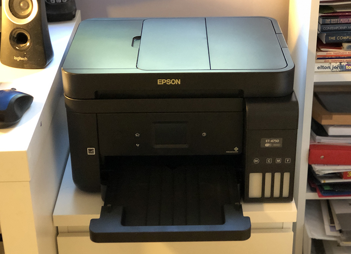The Eco-Friendly Epson WorkForce ET-4750 EcoTank All-in-One Printer