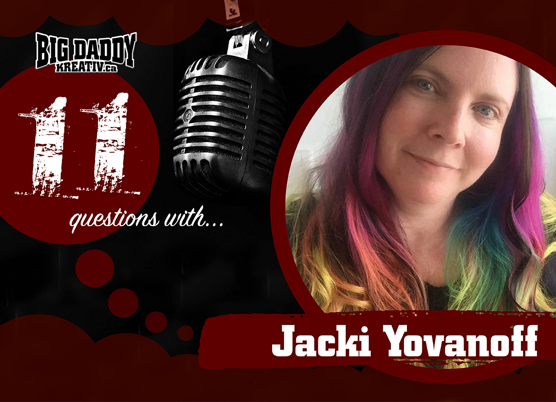 11 Questions with… Jacki Yovanoff