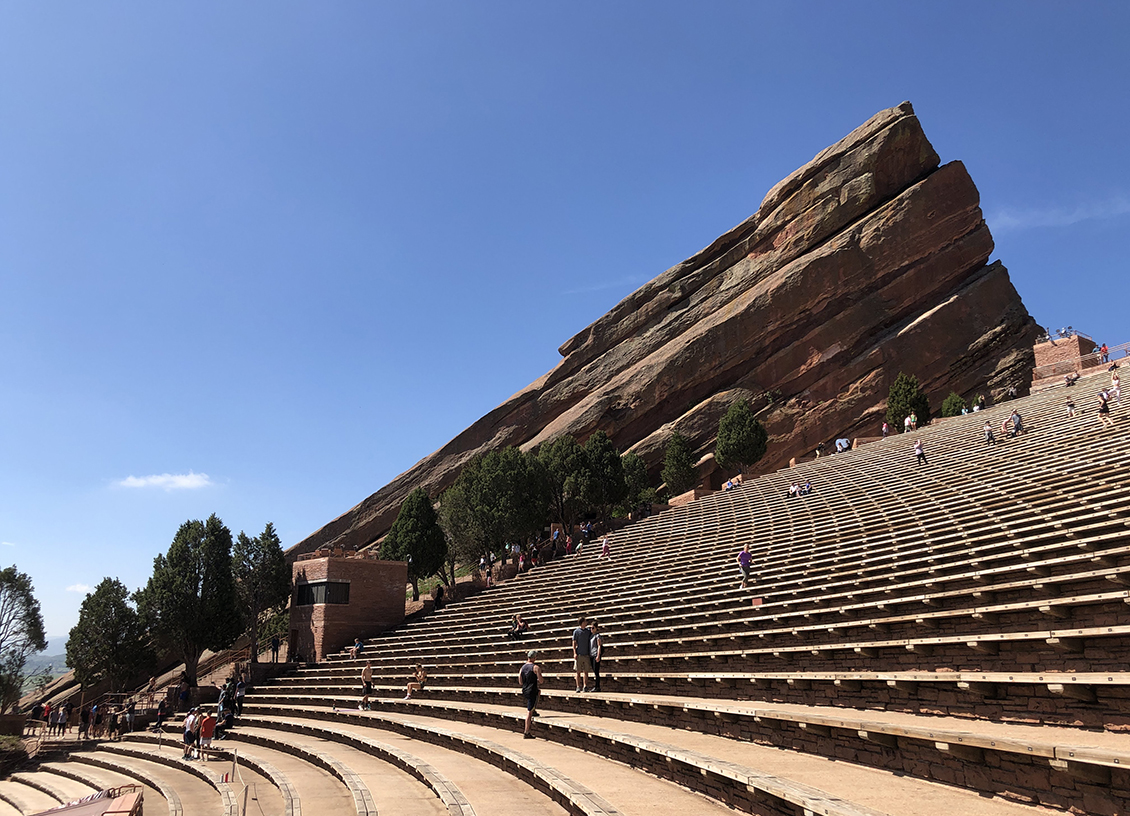 Visit Colorado: Feeling Like a Rock Star at Red Rocks Amphitheatre