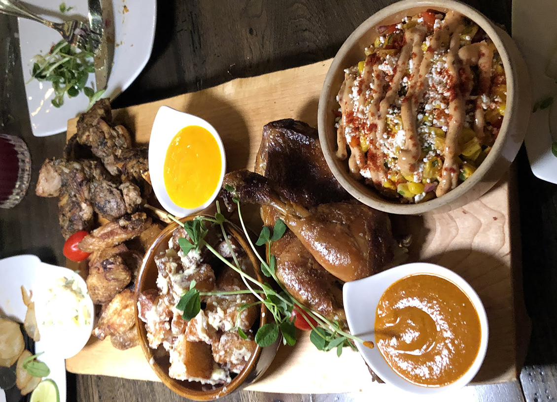 Taste Of Burlington Barra Fíon Tapas & Barrel platter